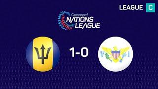 #CNL Highlights - Barbados 1-0 U.S. Virgin Islands