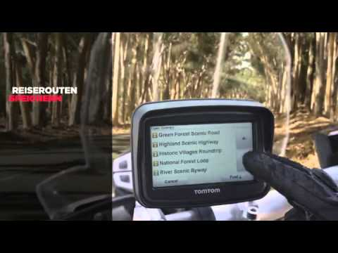 tomtom rider europe v4 motorrad navi test youtube. Black Bedroom Furniture Sets. Home Design Ideas