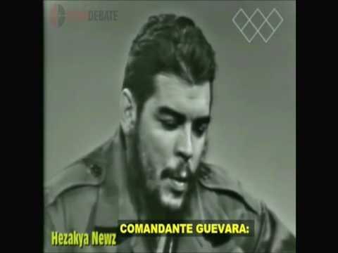"""Entrevista de Ernesto Che Guevara a """"Face to Nation"""" en 1964 (subtitulada)"""