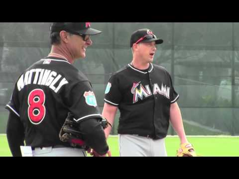 Miami Marlins-1st Full Squad Workout 2016