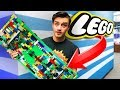 I Built A Life Sized Lego Skateboard