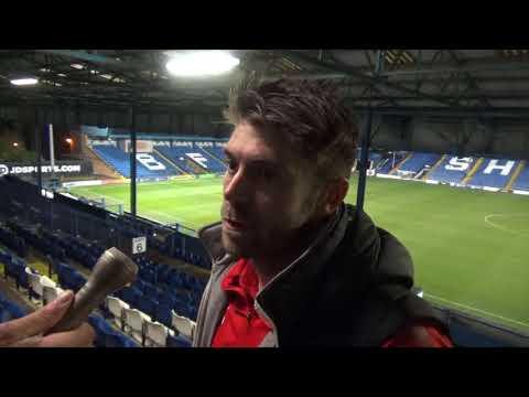 Scott Flinders on Cheltenham Town's 4-1 defeat at Bury