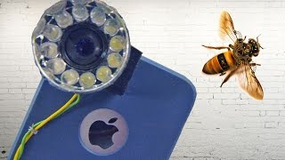 Smartphone Scanner Macro + RingLight • Tutorial • do it yourself