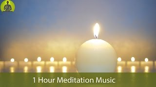 1 Hour Meditation Music for Positive Energy, Relax Mind Body, Healing Music, Relaxing Music