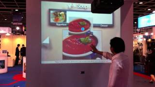 DITOC@Hofex 2011 | Interactive Menu With 3D Sensor Thumbnail