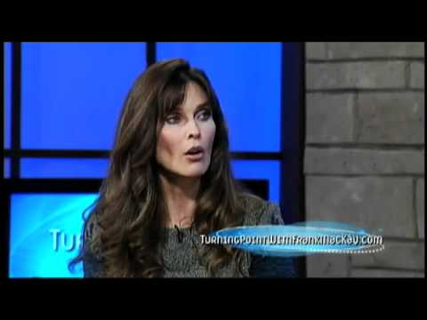 Turning Point with Frank MacKay  model and actress Carol Alt