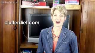 The Dirty Little Secret Of Professional Organizers... | Clutter Video Tip