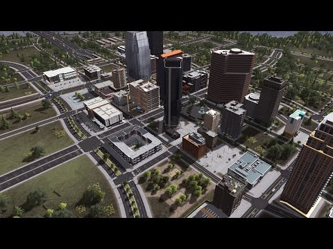 Cities: Skylines - Building a realistic US city [EP.1] - Downtown