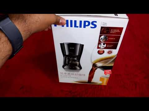 Philips HD7431 Coffee Maker - YouTube