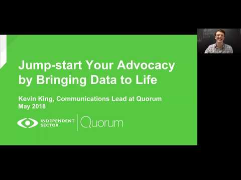 Jump-start Your Advocacy by Bringing Data to Life