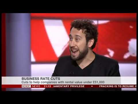 Blackstock Consulting chats retail, high street, Amazon, business rates and property on BBC News