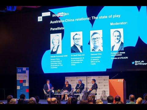 UTS:ACRI/UTS Big Thinking Forum: Australia-China relations: The state of play