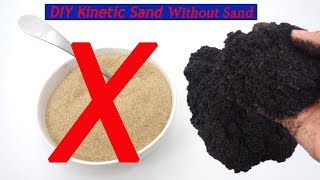 DIY Kinetic Sand Without Sand I You need: Clear Glue, Lifebouy, Eye Drops, Titan