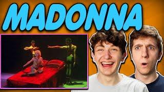Madonna - 'Like A Virgin' Blond Ambition Tour REACTION!!