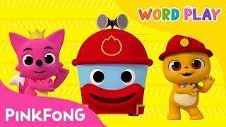 Hurry Hurry Drive the Fire Truck | Word Play | Pinkfong Songs for Children