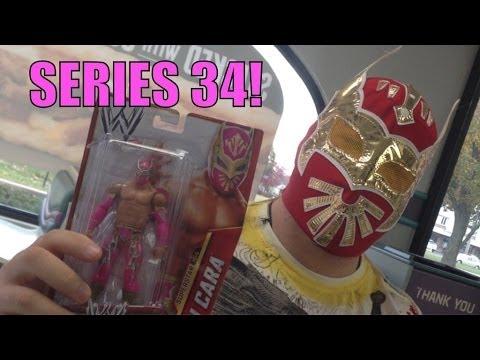 WWE ACTION INSIDER: Sincara Mattel Superstars Series 34 basic wrestling figure! Toy Figures review