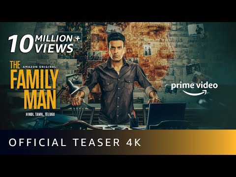 The Family Man Season 2 - Official Teaser 4K | Manoj Bajpayee, Samantha | Amazon Original