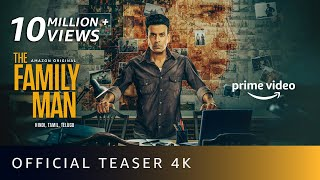 The Family Man Season 2 - Official Teaser 4K | Raj & DK | Manoj Bajpayee, Samantha | Amazon Original