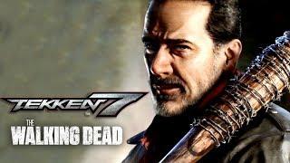 Tekken 7 - Negan Official Gameplay Reveal Trailer   TWT 2018