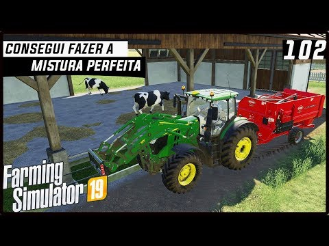 CONSEGUI FAZER A MISTURA PERFEITA! | FARMING SIMULATOR 19 #102 [PT-BR] thumbnail