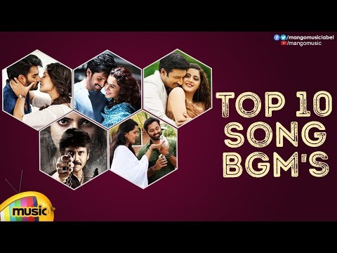 Top 10 Telugu Song BGMs | Back 2 Back Super Hit Song BGMs | Latest Telugu Background Music