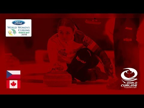 Czech Republic v Canada - Round-robin - Ford World Women's Curling Championships 2018