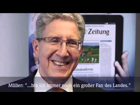 OB-Wahl in Lahr: Wolfgang G. Müller stellt sich Stakkato-Interview