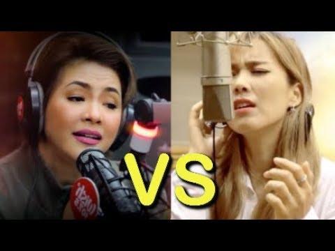 Regine Velasquez VS So Hyang IN SAME SONGS!