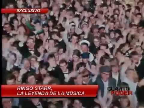 Entrevista a ringo starr en cuarto poder youtube for Cuarto poder america tv