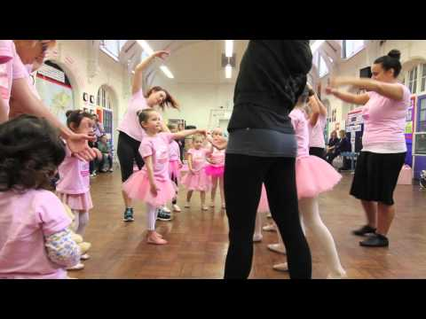 Flamingo Chicks & English National Ballet