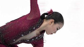 Рика Кихира. Короткая программа. Женщины. NHK Trophy. Гран-при по фигурному катанию 2019/20