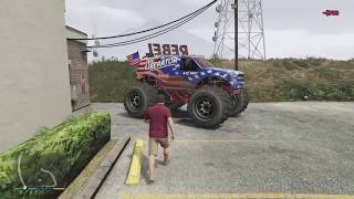 Gta 5 how to custom a monster truck/free rome