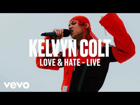 Kelvyn Colt - Love & Hate (Live) | Vevo DSCVR ARTISTS TO WATCH 2019