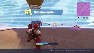 Small top 1 with the skin skier Canada! - Fortnite