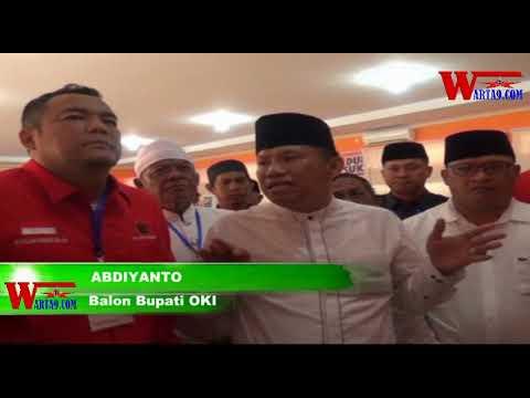 Pilkada OKI, Ribuan Massa Kawal ADE Daftar Ke KPU - Warta9.com