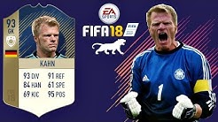 FIFA 18 | Kahn 2002 PRIME ICON | VIRTUAL PRO LOOK A LIKE TUTORIAL