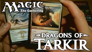 "ASMR Ear-to-Ear Whisper: MTG ""Dragons of Tarkir"" Fat Pack"