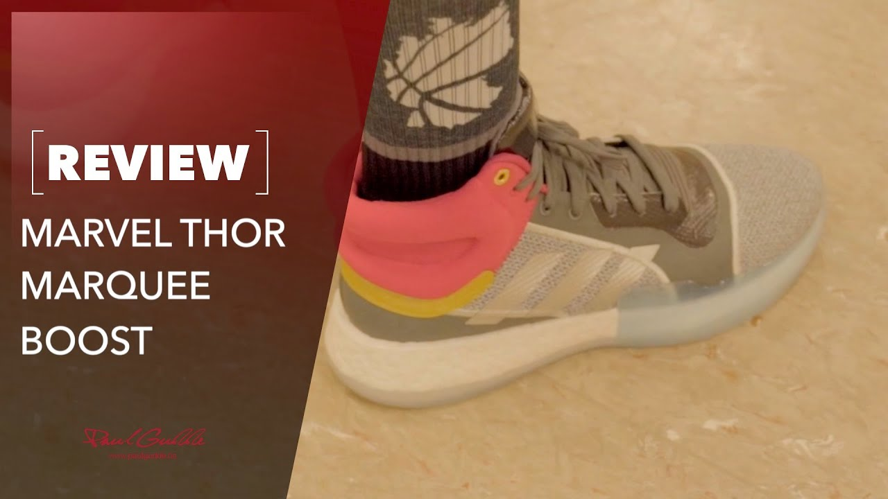 ADIDAS Marquee Boost Marvel Edition Thor Performance Test