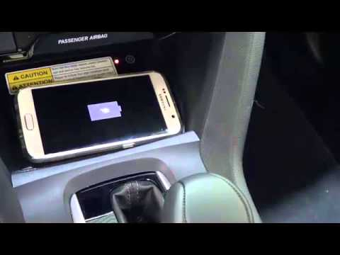 Wireless Charging available in the 2016 Civic
