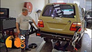 Rear Bumper & Meet and Greet. 20-Year-Old Land Cruiser Restoration, part-13.