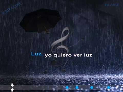 Dancing in the rain - Ruth Lorenzo Karaoke (male version)