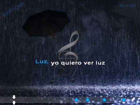 Dancing in the rain - Ruth Lorenzo Karaoke (male version)