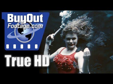 16mm Home Movie Film - Underwater Aquatics 1950's