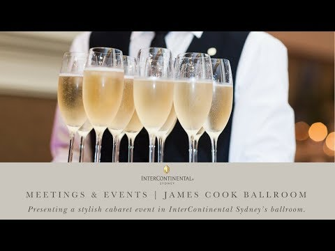 Meetings & Events | James Cook Ballroom Cabaret Style