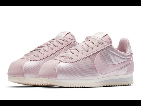 newest d6c5e 9a441 NIKE Classic Cortez Nylon -Awesome Pink// Unboxing and review!!!