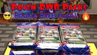 2018 Prizm RWB Packs. RWB Rookie Auto Alert!!!