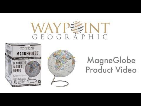 Waypoint Geographic MagneGlobe - Magnetic World Globe