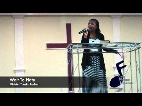 Evangelist Taneka Forbes, \