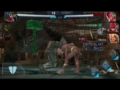 13c979cd9 Injustice 2 Mobile - Insane amount of stuns against Secrets. - YouTube