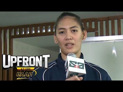 Sinong player ang pinaka mahirap i-block?   UAAP Asks   Upfront at the UAAP